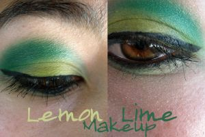 Lemon Lime makeup by ceciliay