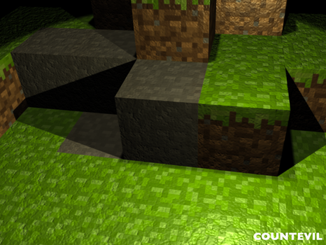 Minecraft HD by countevil