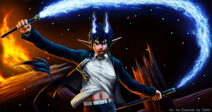 Ao no Exorcist by SaitoMaks