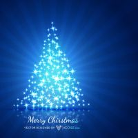 Christmas Tree Free Vector by vecree