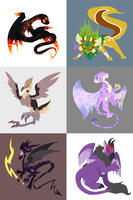 Neopets Set 1 by Coloursfall