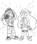 Day 231: Pokemon Trainers Ruby and Sapphire by Artistic-Winds