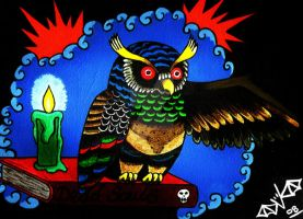 Dead Souls Owl by Vicki-Death