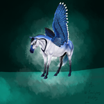 Blue Jay by horse-art-here