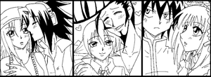 Fav Canon Couples by EngelchenYugi