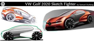 VW Golf 2020 by dyrborgdesign