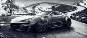 Gt86 Supercar Concept Render (update4) by cobraromania