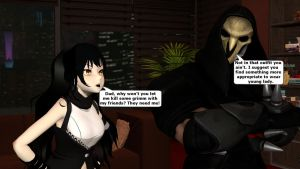 Blake and her Father Reaper (What If) by kongzillarex619