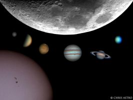Solar System 2011-2012 by ChrisAstro102