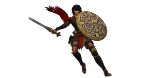 SMITE Renders - Bellona Secondary by Kaiology