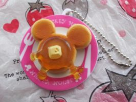 Mickey Mouse Pancake Re-ment by MoochaLuv