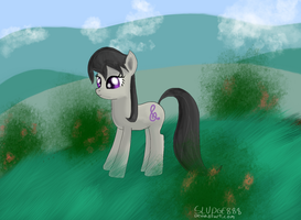 Octavia (Plus an attempt at a decent background) by Sludge888