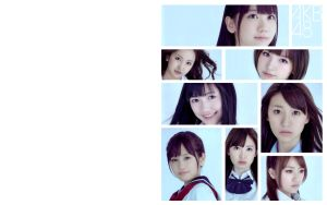 AKB48 2011 Top 8 Wallpaper V2 by yic