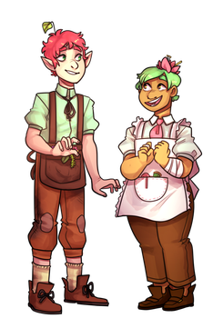 Bee And Lukas by nutellarella