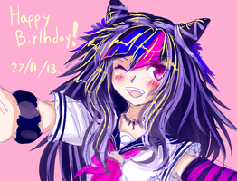 shsl birthday girl by ghostlycrab