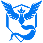 Pokemon GO Team Mystic Logo by tobuei