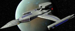 USS Talon--3d version by Roguewing