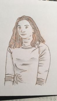 Portraiture Trial #3 by Sarahfish28