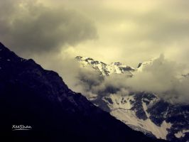 Silent Mountains.. by xeeshan-ch