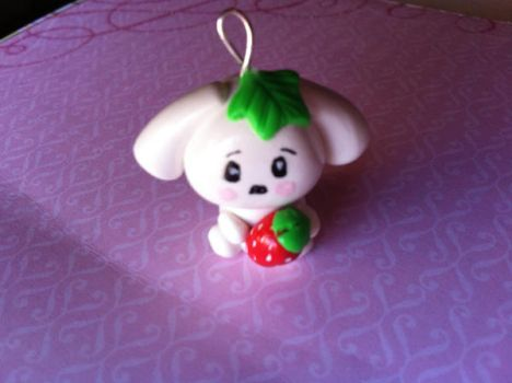 Berry Puppy Charm by KatGore