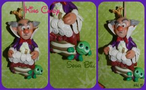 King Candy and Sour Bill Ornament by disneykittyart