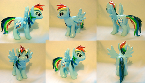 Rainbow Dash sculpt. FOR SALE by Magickie