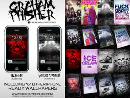 GrahamPhisher 2009 iPhone WPs by GrahamPhisherDotCom