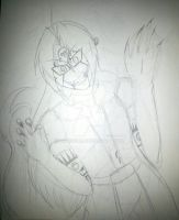Sketch: Cheshire!Ed - Anyone there~? by AnimeEmm