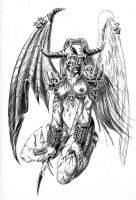 Danzig Angel by dreadangel