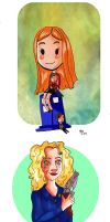 DW portraits by pinkwater1211