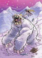 Abominable snowman by IlariaF