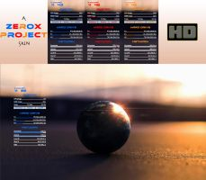 Zerox Simply 1 (Rainmeter) by ZeroxProject