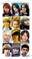 Hee Chul's 2010 HairStylessss. by AngelaLoiza
