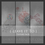 [Texture pack 3x 600 px x 600 px] Leave it to by Agraffkowa