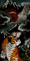tiger-eagle by dielectric-m