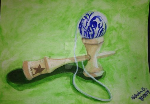 Kendama ball by Ninjadark21