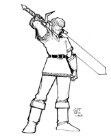 Link - lines by GilTriana