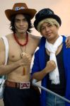 Ace and Sabo AFAMY 2012 by riezforester