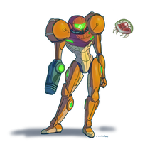 Samus by tigon