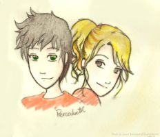 Percy and Annabeth - I Trust You by xsweetsillygirl
