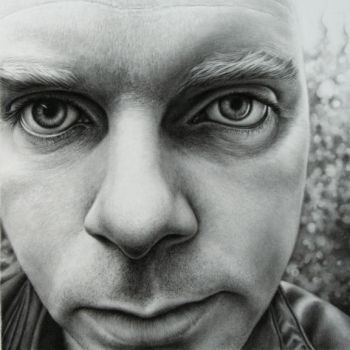 Self Portrait 2007 - drawing by dizzykid