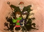 Gravity Falls ft. BassBeastJD by annasabi101