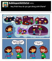 ASK PEANUTALE 02 - UNDERTALE by TenmaRKO
