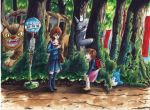 Totoro  'The Spirits of the forest will watch' by DarkCloudXERO