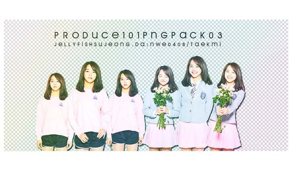 18 / PRODUCE 101 PNG PACK 03 by NWE0408