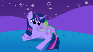 A Day for Spike and Twilight eReader by jlryan