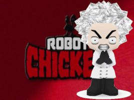 Robot Chicken Buddypoke by Ben2DJammin
