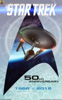 50 Years Star Trek by Euderion