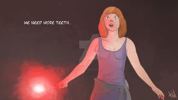 JURASSIC WORLD - WE NEED MORE TEETH. by LordDanminator