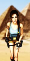 Lara Croft Egypt by KSE25
